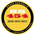 Chevelle SS Hat/Lapel Pin - Window Sticker